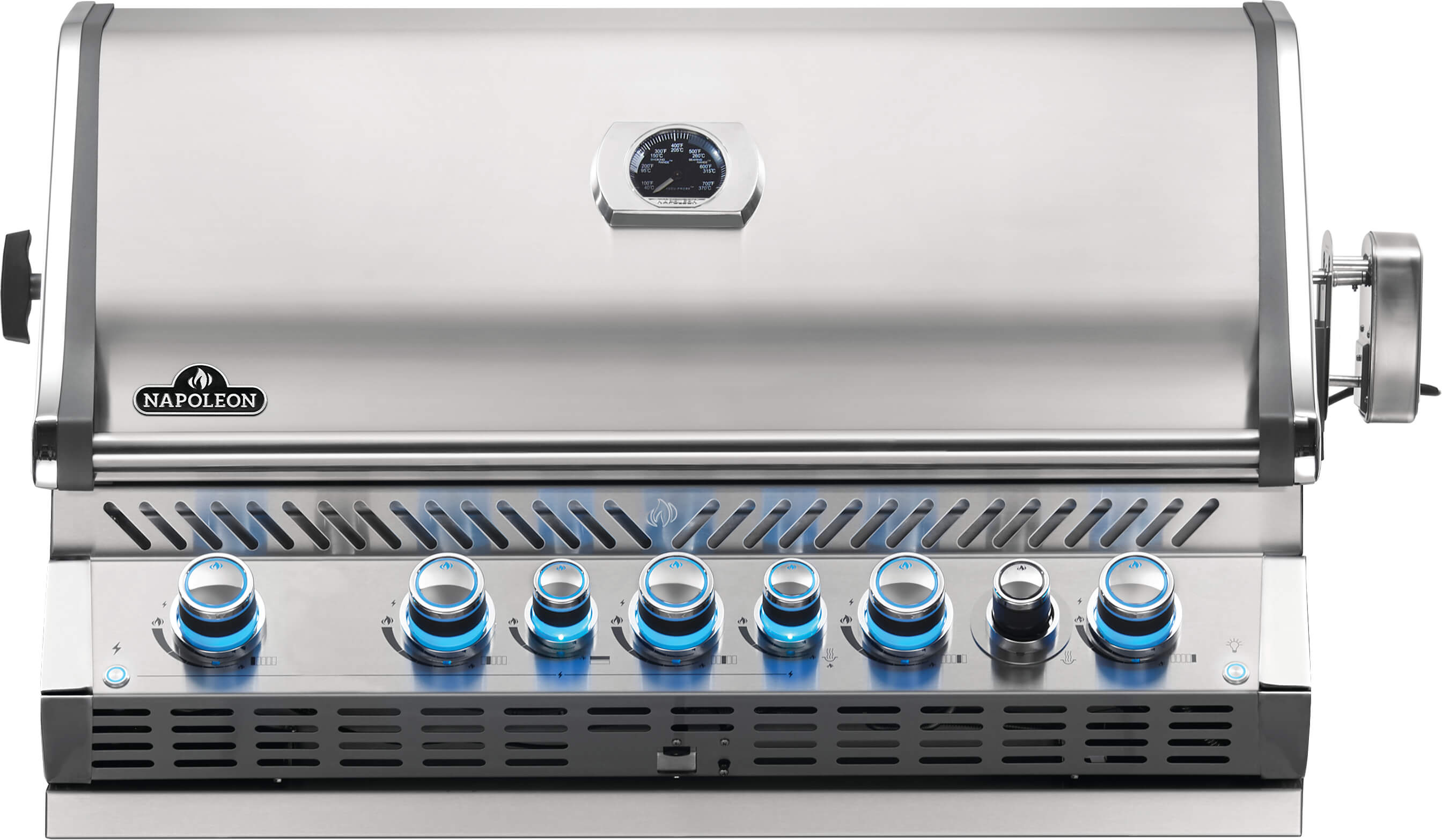 Built-in Prestige PRO™ 665 Propane Gas Grill Head with Infrared Rear Burner, Stainless Steel