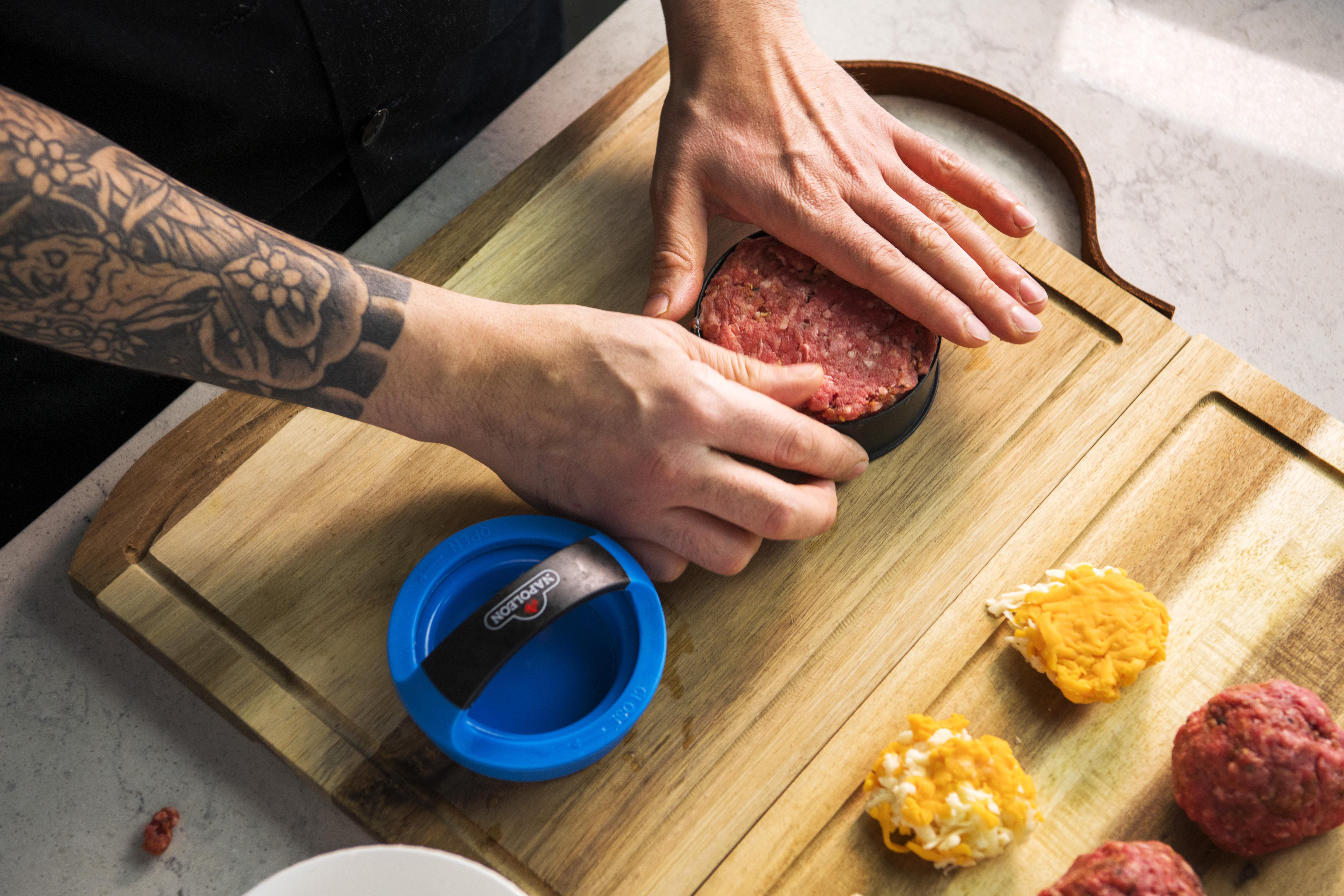 Gourmet Burger Press Kit