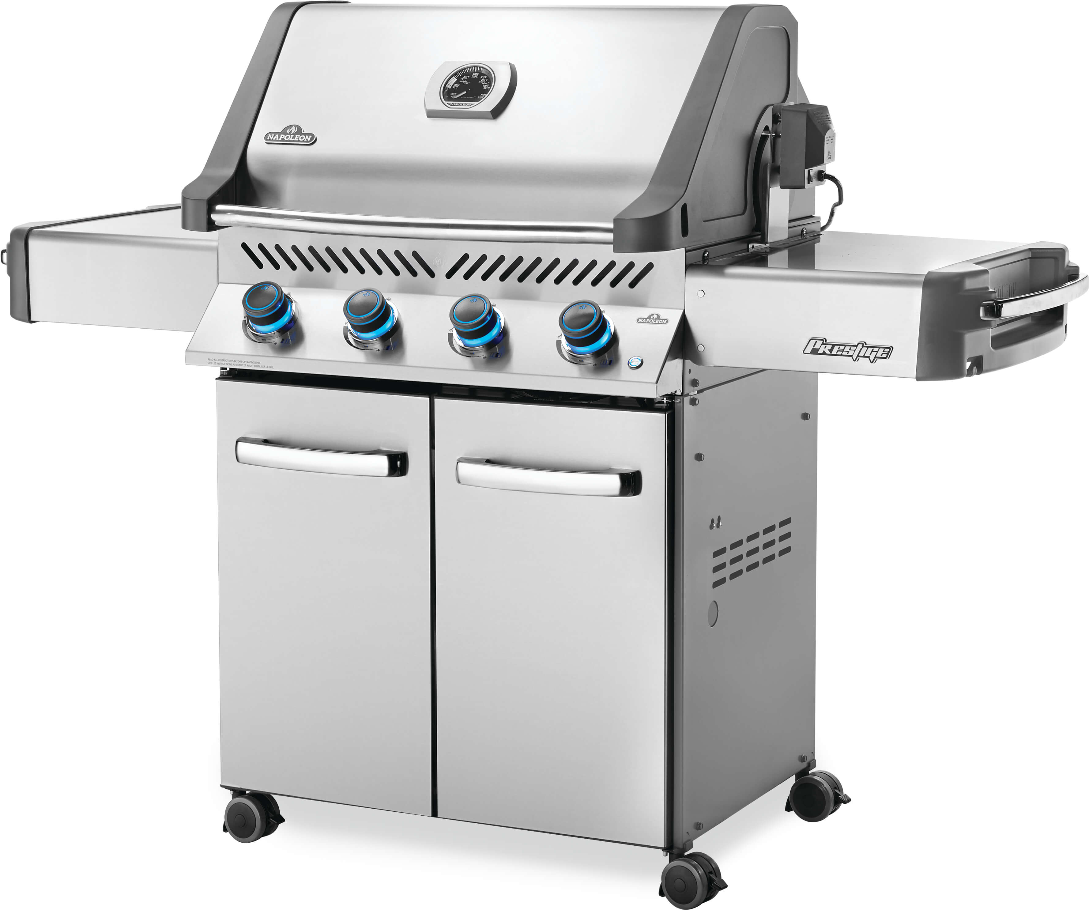 Prestige® 500 Natural Gas Grill, Stainless Steel