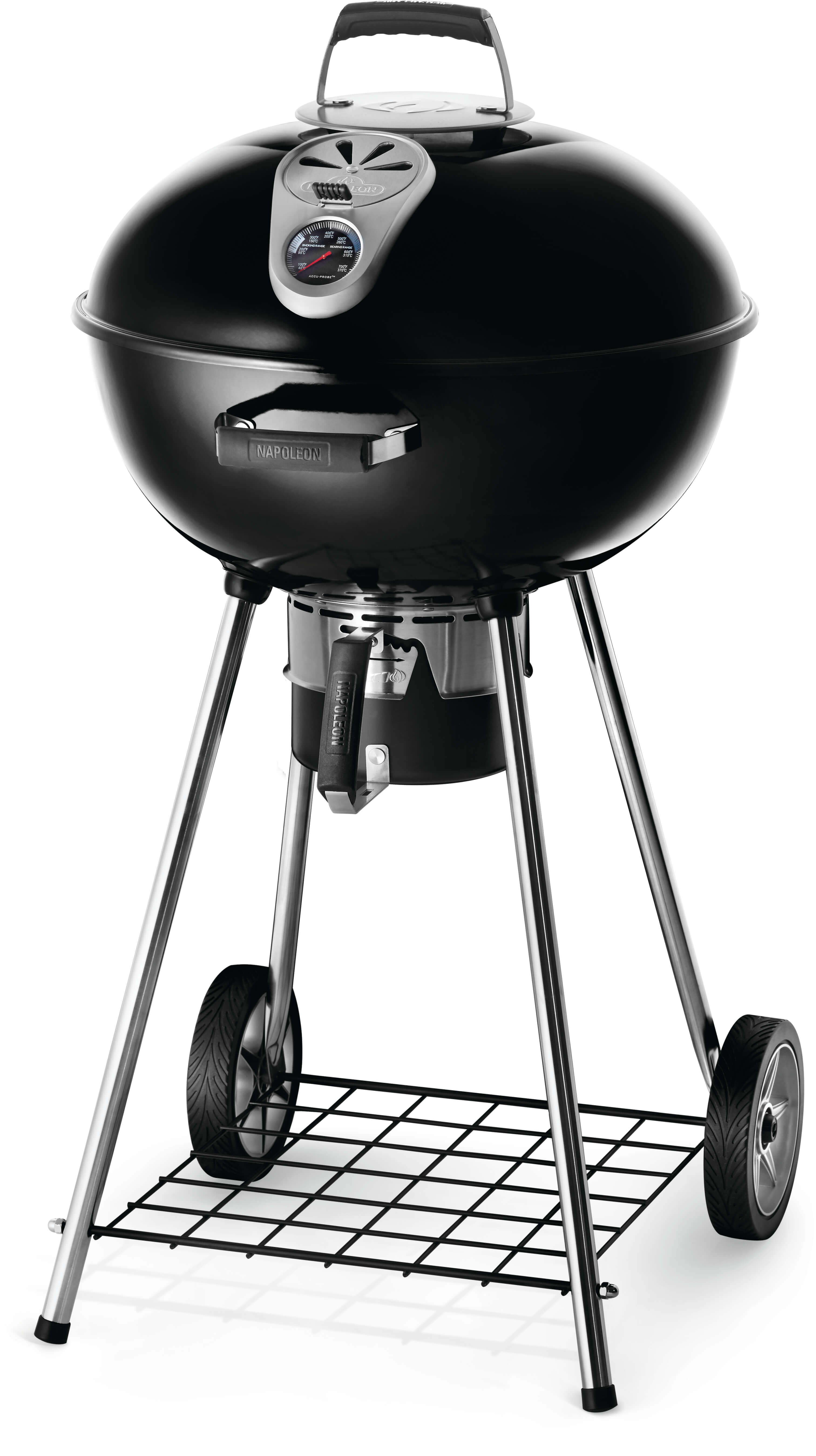 """22"""" Charcoal Kettle Grill, Black"""