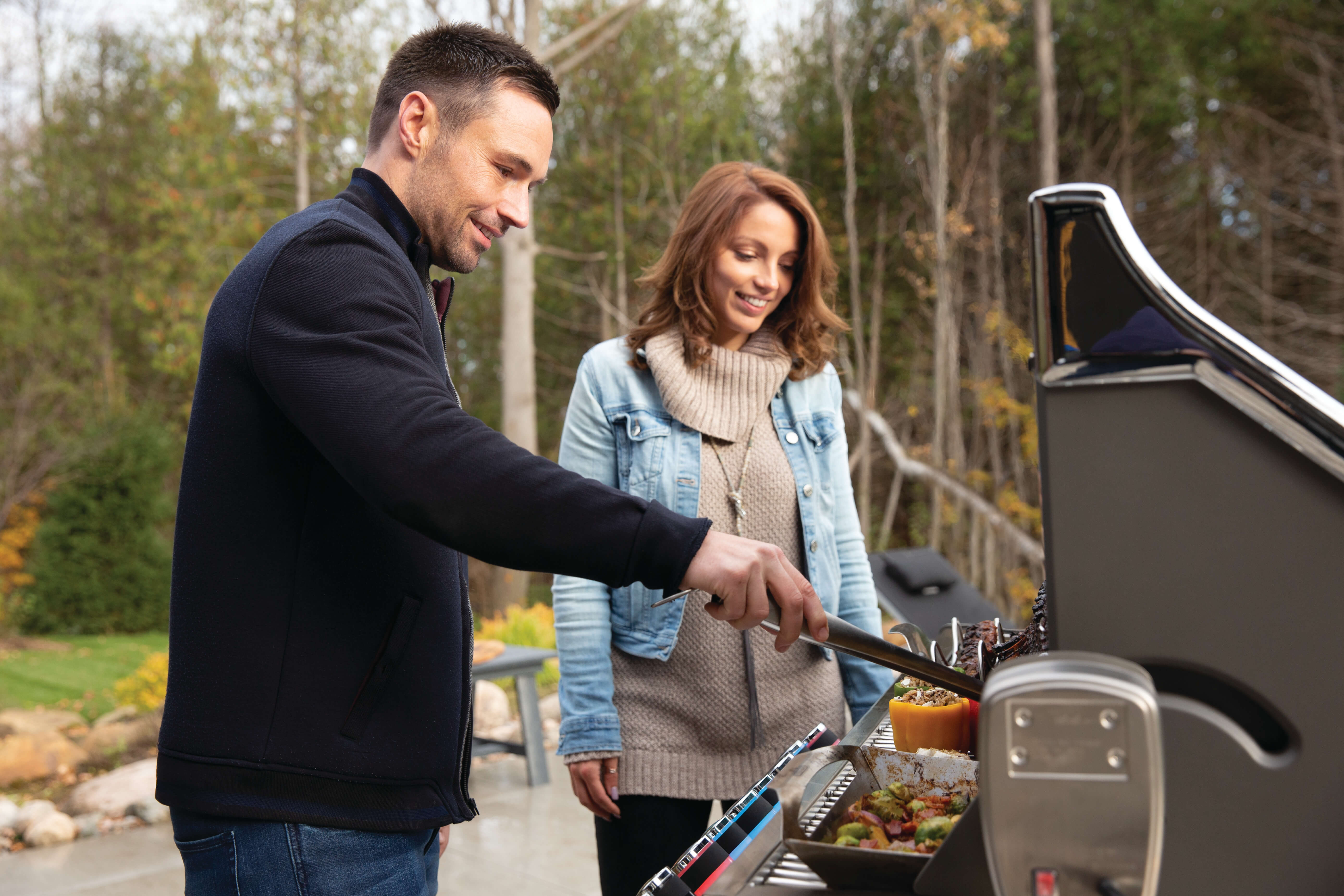 Prestige PRO™ 665 Propane Gas Grill with Infrared Rear and Side Burners, Stainless Steel