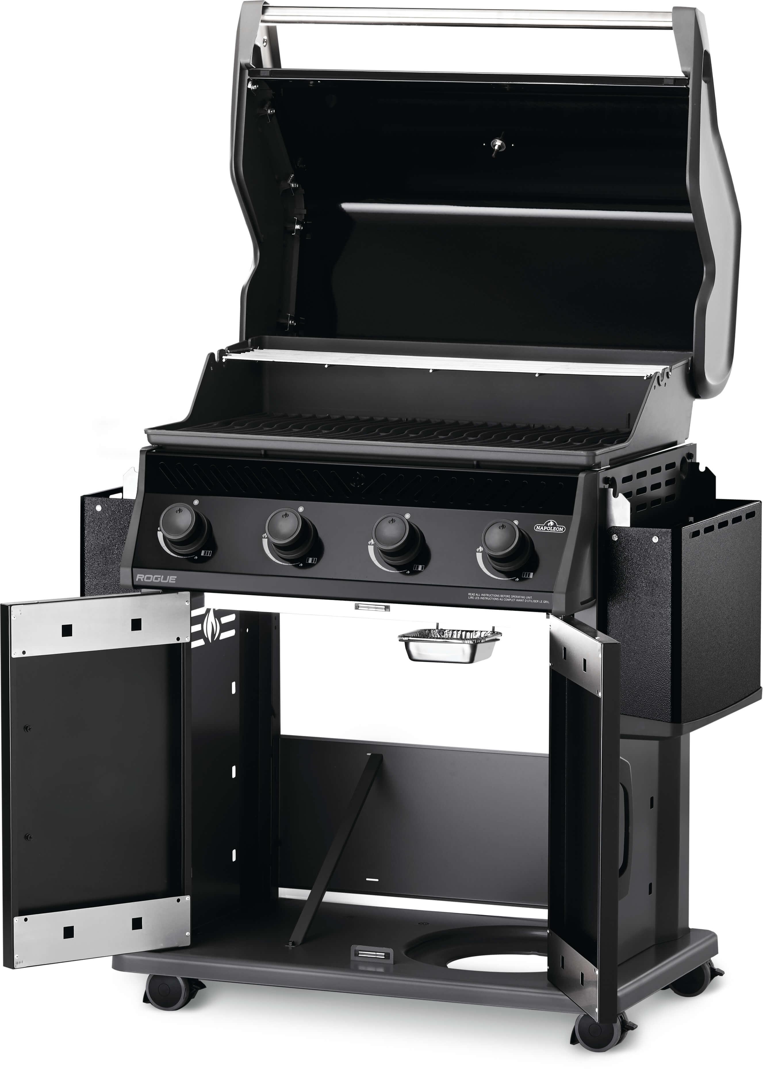 Rogue® 525 Propane Gas Grill, Black