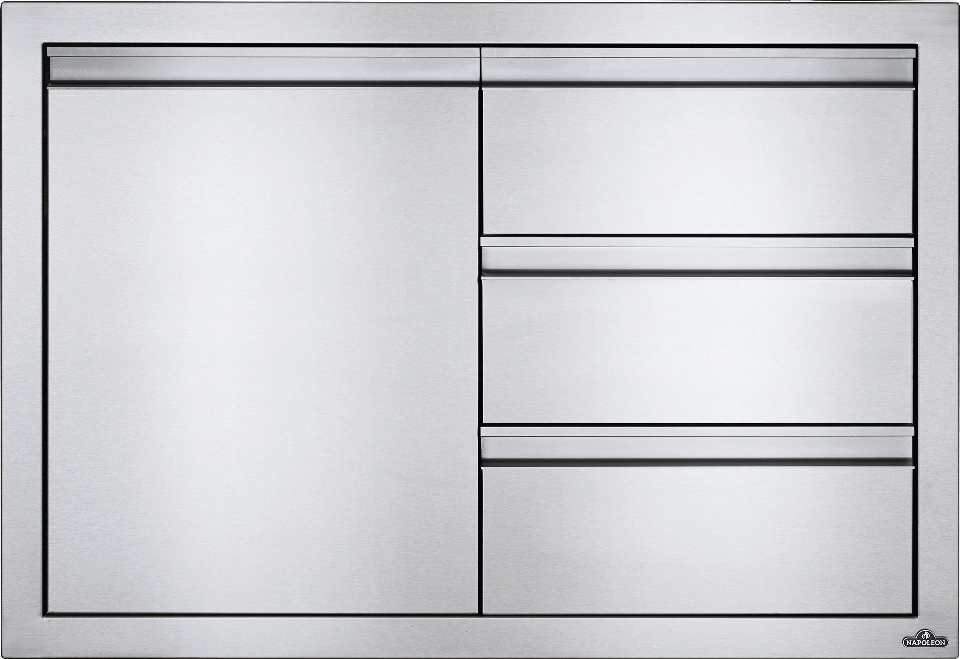 """36"""" X 24"""" Single Door & Triple Drawer Combo"""
