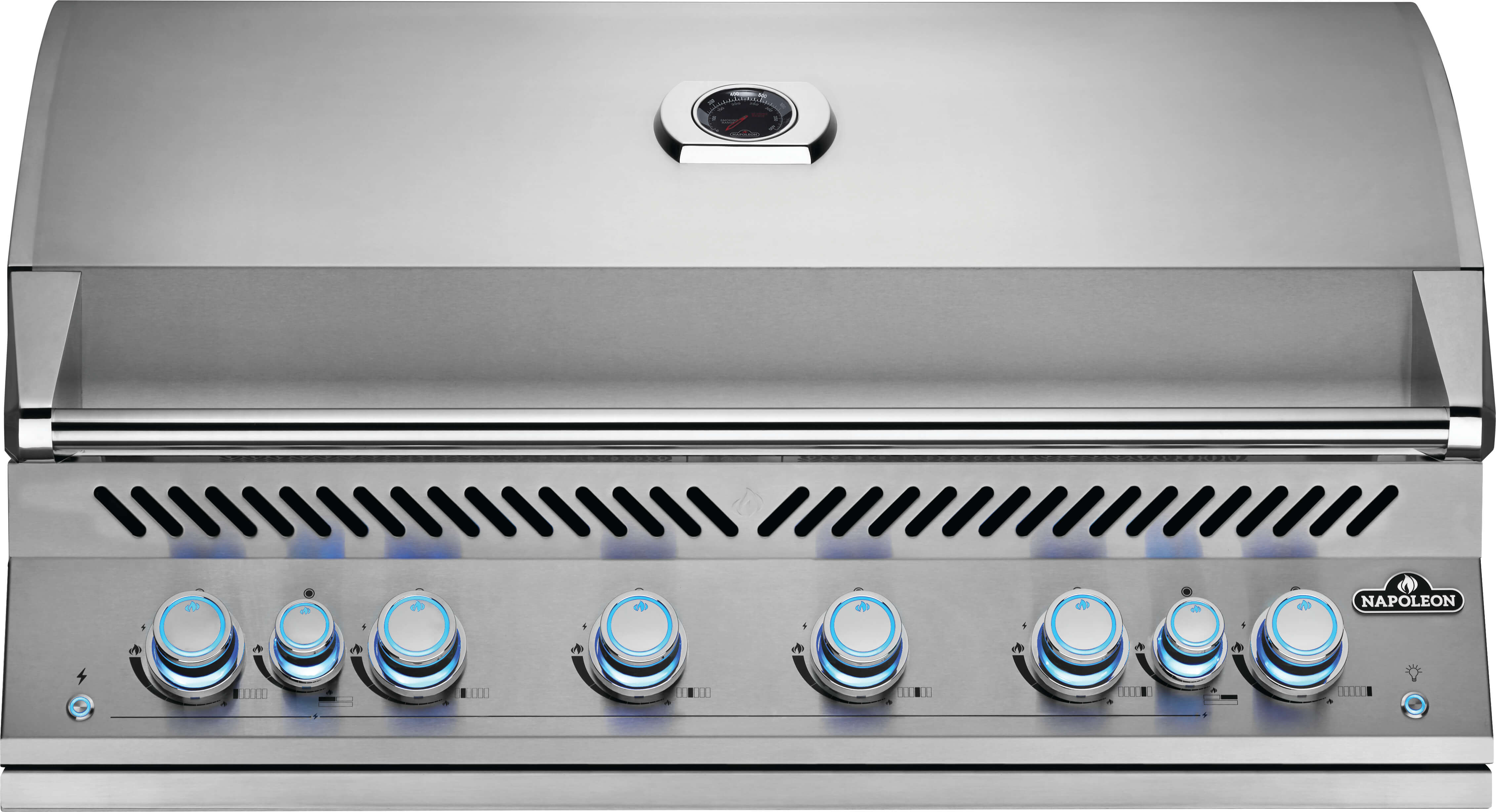 """Built-In 700 Series 44"""" with Dual Infrared Rear Burners, Natural Gas, Stainless Steel"""