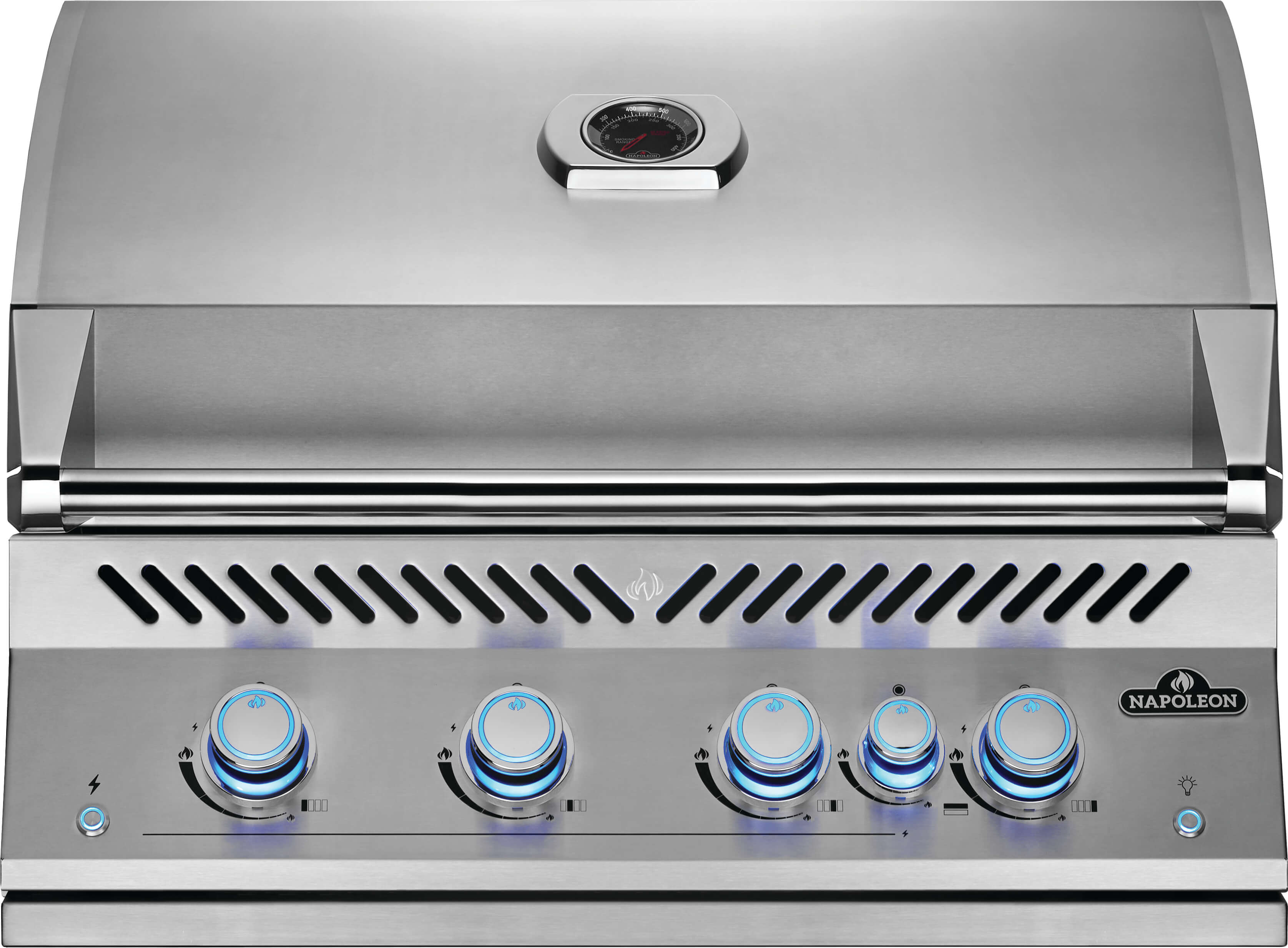 """Built-In 700 Series 32"""" with Infrared Rear Burner Natural Gas, Stainless Steel"""