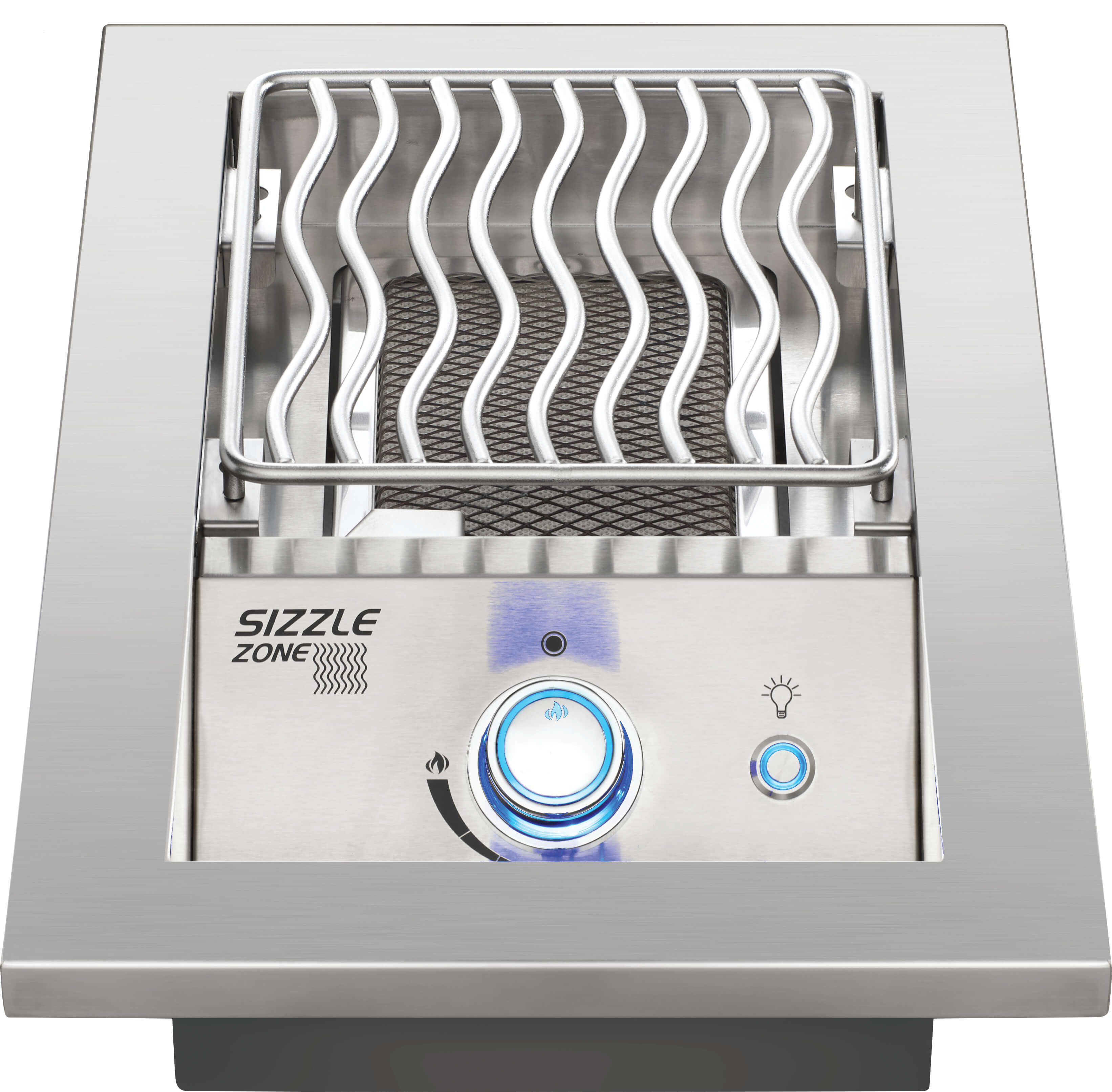 """Built-In 700 Series 10"""" Single Infrared Burner Natural Gas, Stainless Steel"""
