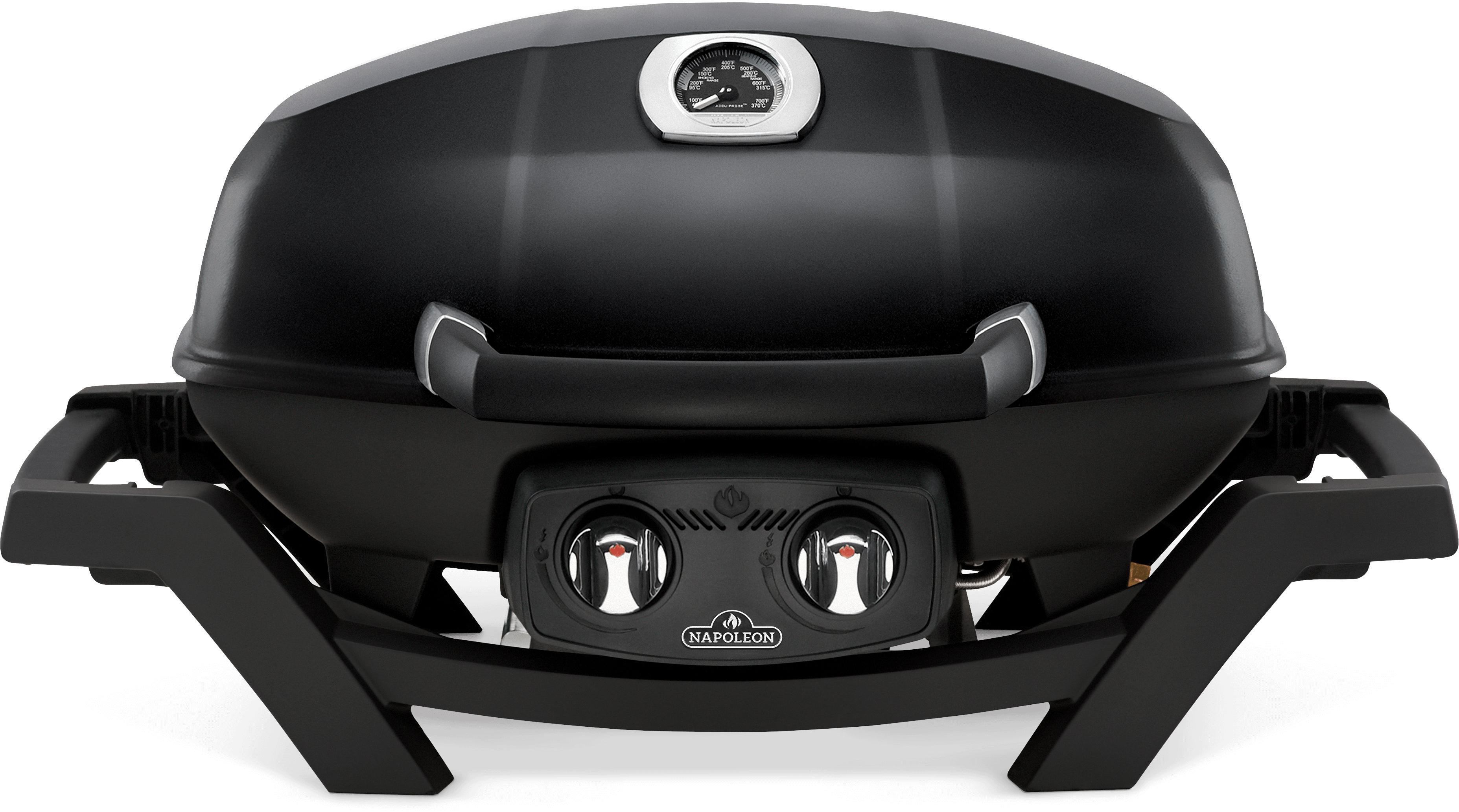 TravelQ™ PRO285 Portable Propane Gas Grill, Black