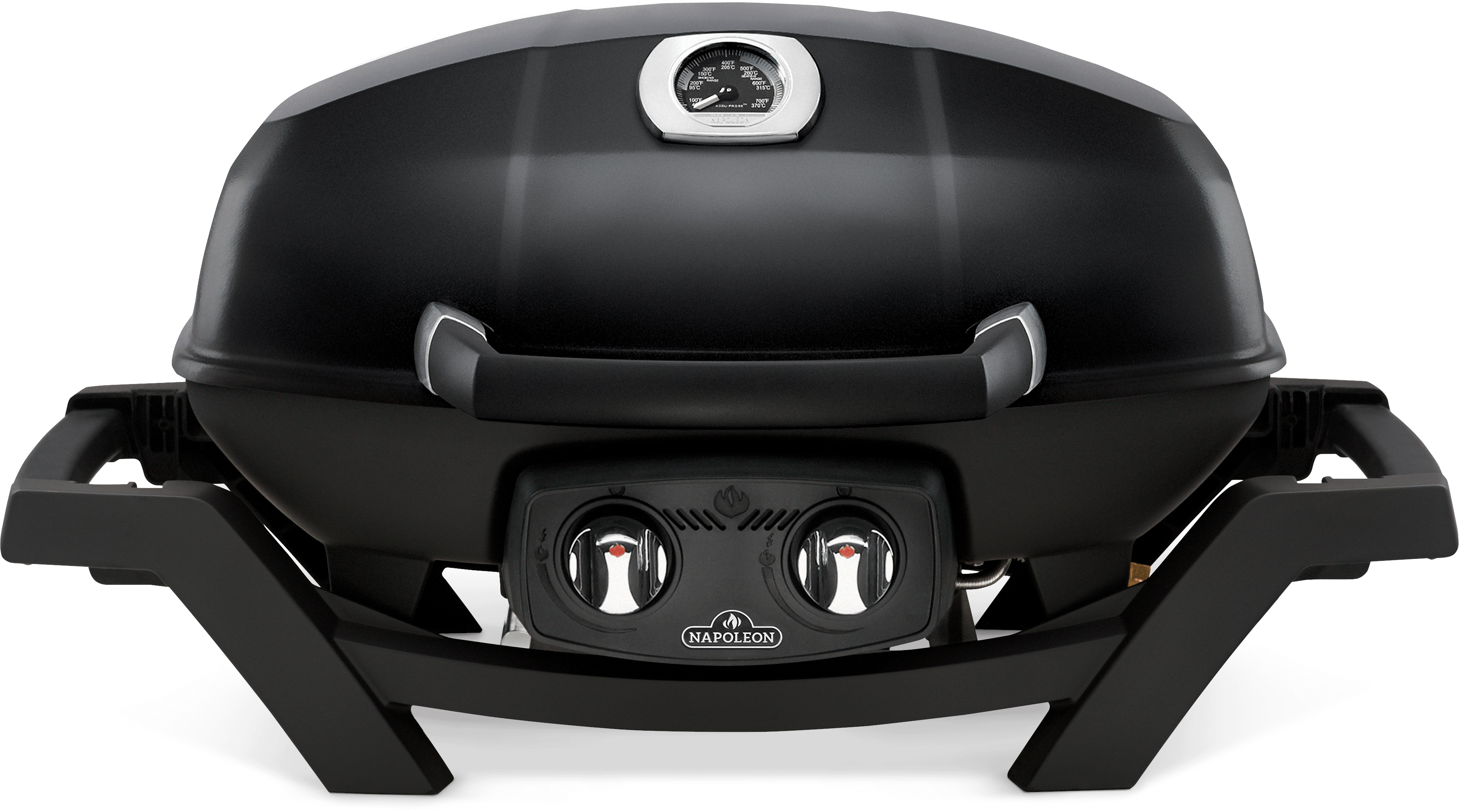 TravelQ™ PRO285 Portable Natural Gas Grill, Black