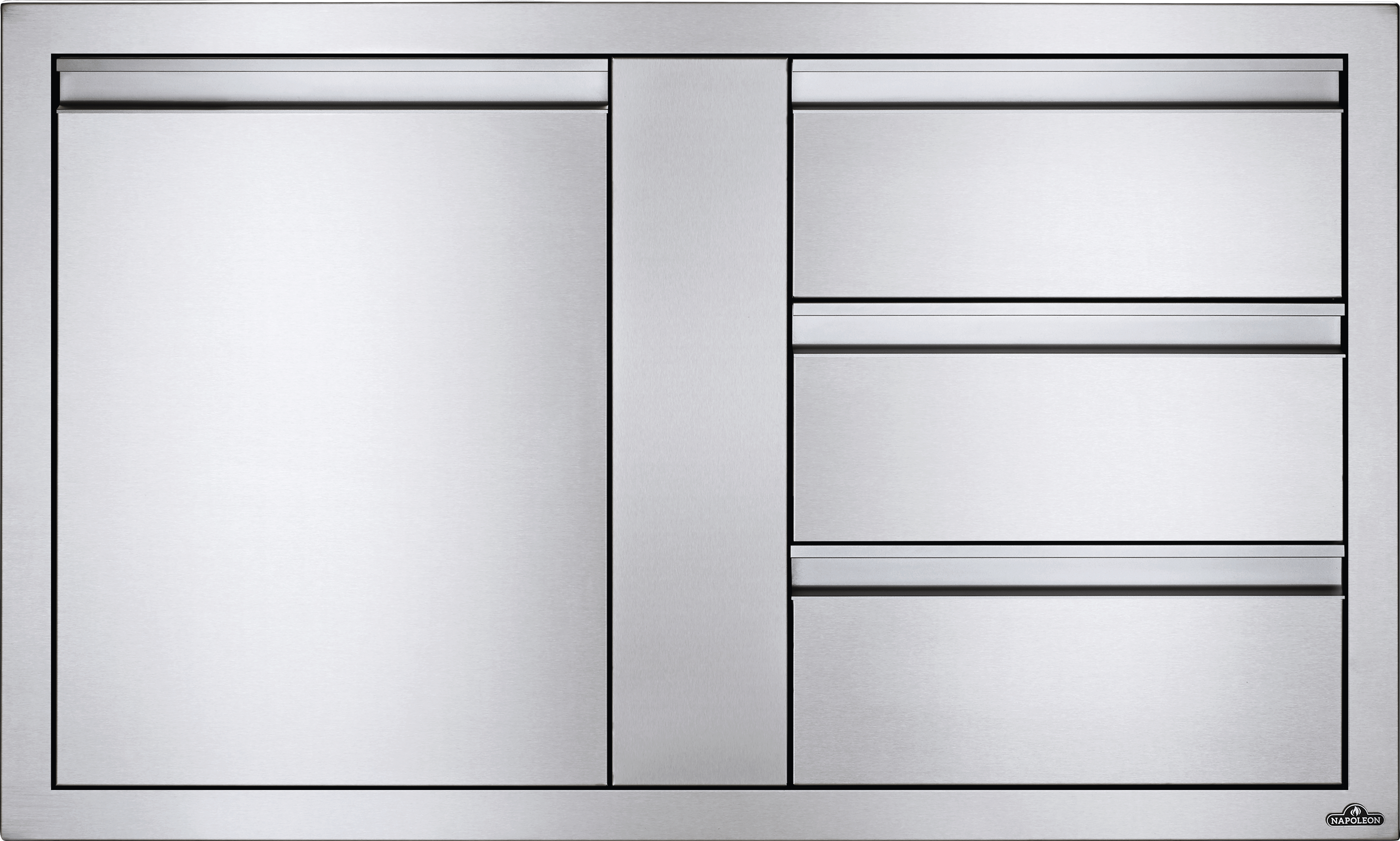 "42"" X 24"" Large Single Door & Triple Drawer"